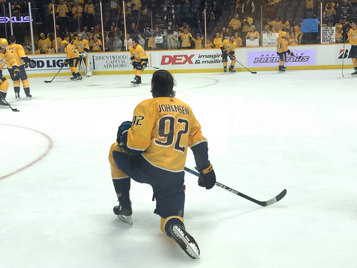 I'm in a Glass Case of Emotion: Preds Fall to Ottawa in OT
